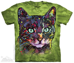 Russo Watchful Cat Mountain Adult & Child T-Shirts - $18.51+