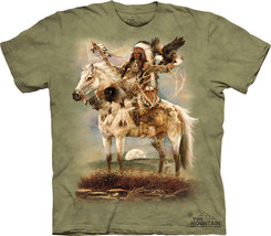 Spirit Of Native American Indian The Mountain A... - $17.57 - $27.67