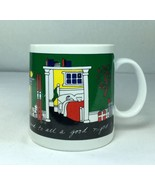 Taylor & Ng Joyous Noel Christmas, Jolly New Year Mug Cup San Francisco ... - $19.58