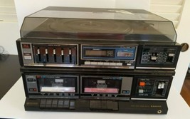 VINTAGE SANYO Stereo Music System GXT Record Pl... - $45.82