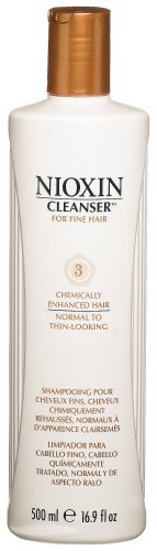 Nioxin Cleanser, System 3 (Fine/Treated/Normal to Thin-Looking), 16.9 Ounce