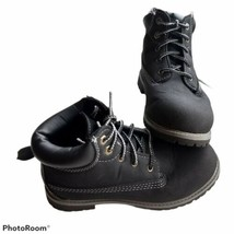 Boy's Faded Glory Black Boots Size 2 - $14.84