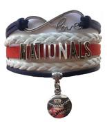 Washington Nationals Baseball Fan Shop Infinity Bracelet Jewelry - $11.99