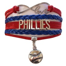 Philadelphia Phillies Baseball Fan Shop Infinity Bracelet Jewelry - $11.99