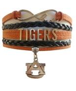 Auburn University AU Tigers Fan Shop Infinity Bracelet Jewelry - $12.99