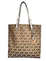 Michael Kors Signature Jacquard North South Tot... - $224.00
