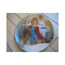 Edwin Knowles Collector Plate Annie and Sandy 1983 - $4.94