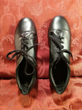 CAPEZIO Tap Shoes Youth Boys Black Leather Lace Up SIZE 8½, 8.5 - $32.00