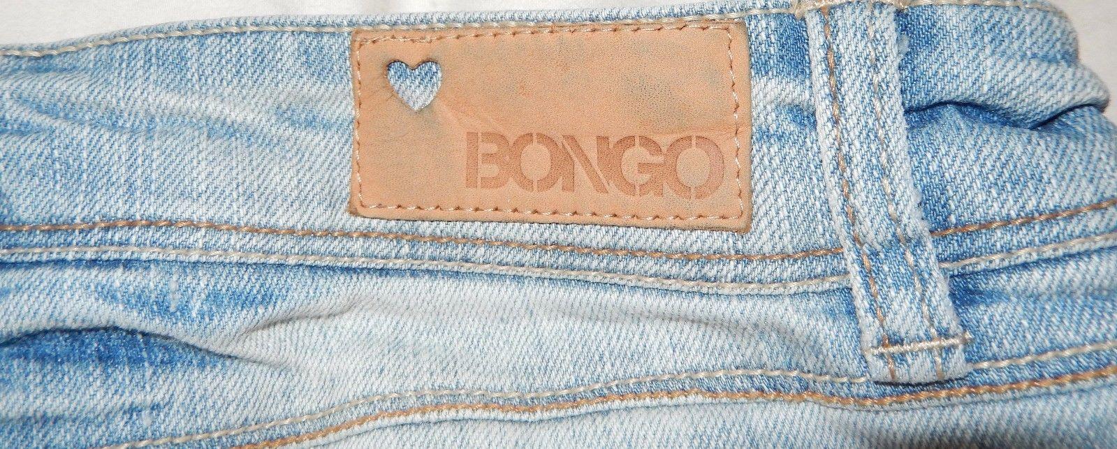 Bongo Skinny Boot Low Rise Jean Size 7 Junior (30 x 32)