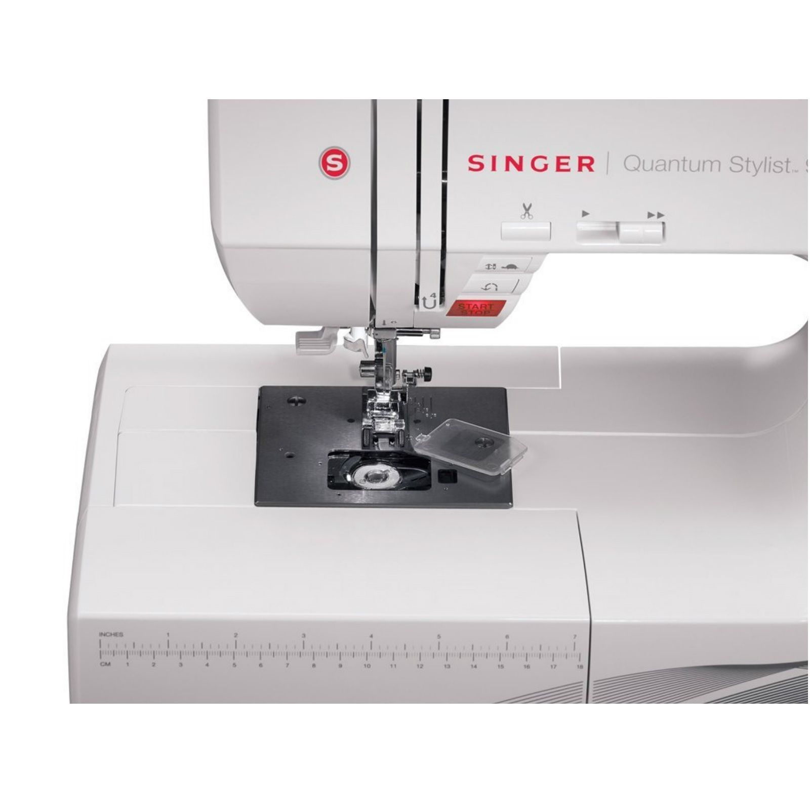 Embroidery sewing machine for quilting beginners white