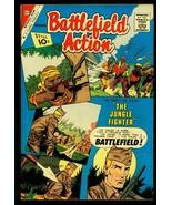 Battlefield Action #39 1961- Charlton Comics- Jungle Fighter- VF- - $62.08