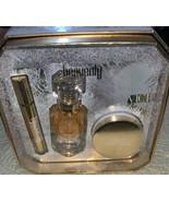 Victoria's Secret HEAVENLY  Eau De Parfum Gift Set 1.7 Oz & roller, Cream - $93.12