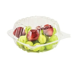 Dart Container 100 Piece, Clear Hinged Plastic Food Take Out To-Go/Clams... - €19,58 EUR
