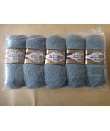 Alize Angora Real 40 Yarn - Pack of 5 skeins - $48.99