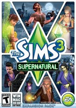 Sims 3 Supernatural Windows Mac 2012 Expansion Pack EA USED Video Game - $20.99