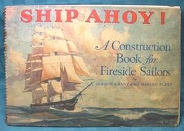 ANTIQUE SAIL BOAT SHIP AHOY GORDON GRANT ART LITHOGRAPH PRINT LITHO SPIR... - $65.44