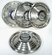 "ORIGINAL VINTAGE 1963 FORD AUTO CAR 14"" WHEEL RIM COVER CENTER HUB CAP S... - $149.59"