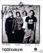 HOOBASTANK GROUP BAND SIGNED AUTOGRAPHED AUTOGRAM 8x10 RP PHOTO - $14.99
