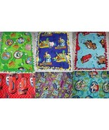 "Disney Fleece Baby Blanket Cars Monsters Inc Toy Story Pet Lap 30"" x 24""... - $39.95"