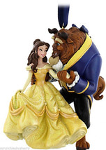 Disney Princess Belle Beauty Beast Ornament Christmas Holiday Theme Parks - $59.95