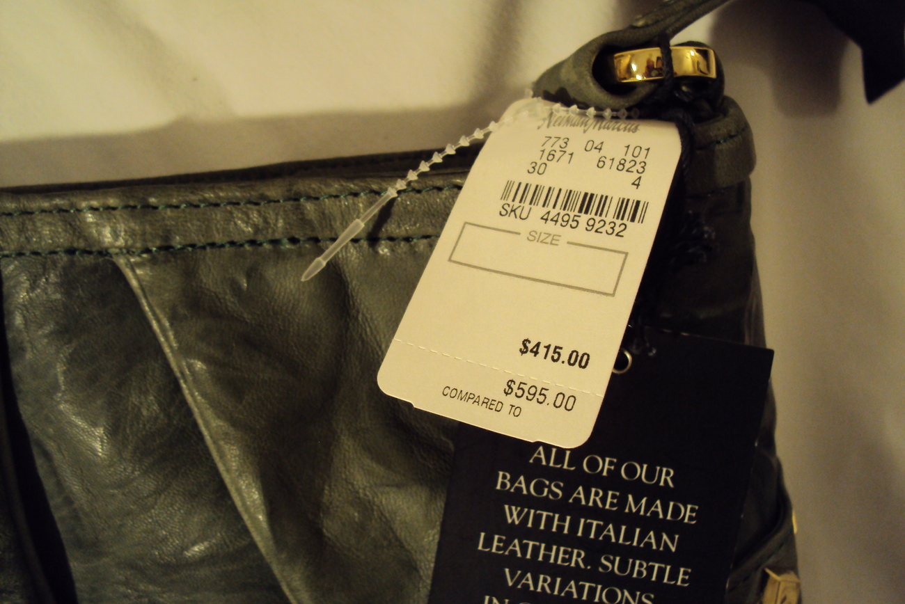 Treesje's Dylan Hobo In Green New With Tags Retail $595