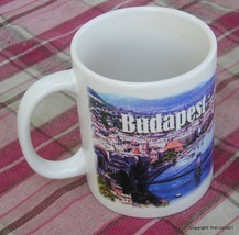 Budapest Hungary Danube Panorama Image Coffee Mug Tea Cup Germany Souvenir - $16.61