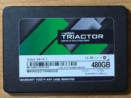 """MUSHKIN TRIACTOR 480GB SATA 3 2.5"""" SOLID STATE DRIVE TLC SSD MKNSSDTR480GB - $133.99"""
