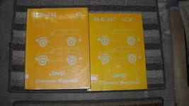 1985 JEEP CHEROKEE & WAGONEER Service Shop Repair Manual Set OEM W BODY ... - $108.85