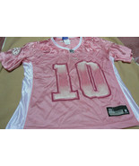 NFL Ladies Pink Tennessee Titans  #10 Young Shirt - $14.84