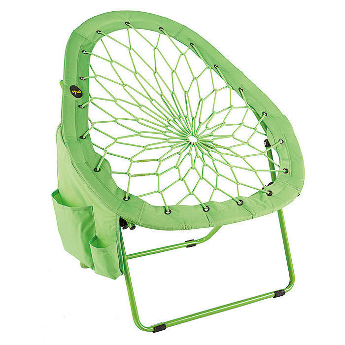 Chair Bunjo Bungee Lounger Folding Dorm Patio Furniture Camping Hammock Seat