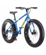 Mongoose Dolomite Fat Tire Mountain Bike, Featuring 17-Inch/Medium High-... - $336.95
