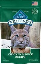 Blue Buffalo Wilderness Chicken & Duck Cat Treats - $19.99