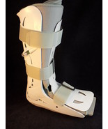 AIRCAST FP WALKER BOOT Support ANKLE BRACE MEDIUM very clean - $21.49