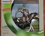 Schleich Scenery Pack #41340 Black Angus Calf-Cowboy-Pinto Horse Exclusive Set