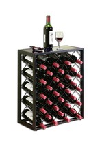 Wine Rack Steel Liquor Bottle Holder Storage Display Floor Furniture Hom... - $161.99