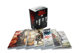 Hell on Wheels Complete Series Seasons 1-5 1,2,... - $69.85