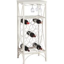 Wine Rack Liquor Bar Bottle Glasses Holder Storage Display Furniture Hom... - $146.99