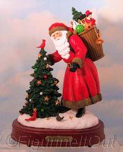 Santa's Secret Musical Figure PIPKA MEMORIES 2008 Retired Limited Editio... - $60.00