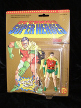 DC Comics Super Hero Action Figure Toy Biz 1989 New Robin With Karate Chop - $16.99