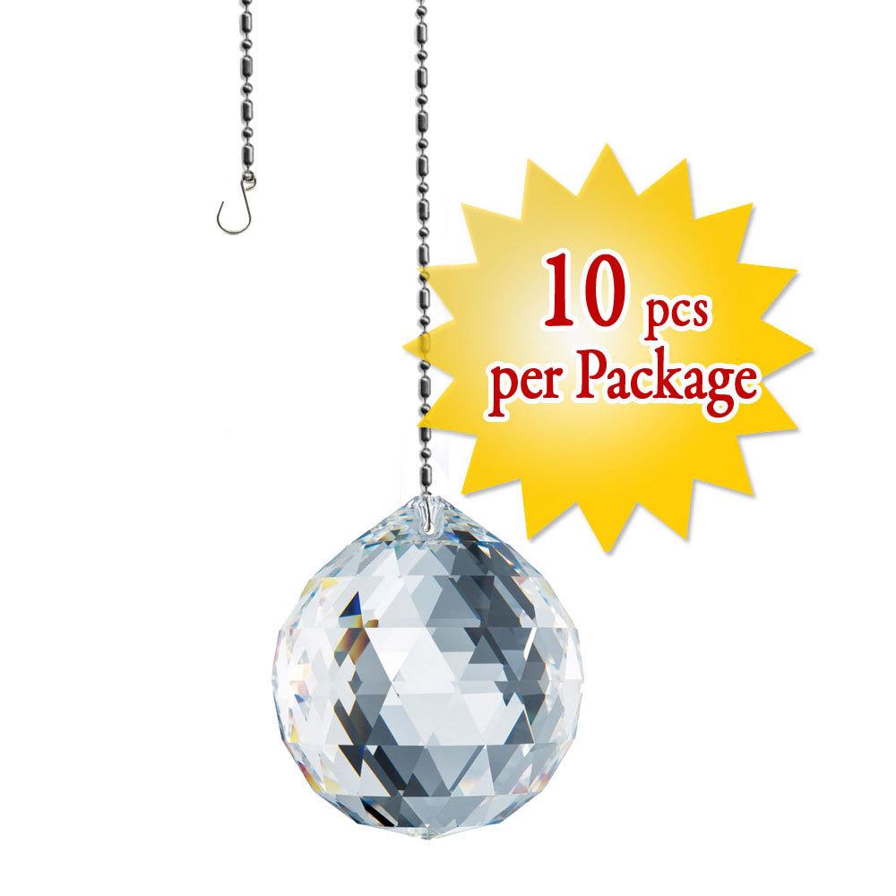 1 pieces Swarovski Crystal  8558 20mm DROP BALL PENDANT CRYSTAL Topaz
