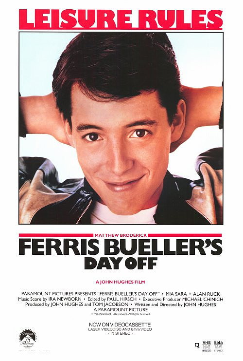 Ferris bueller poster 27x40