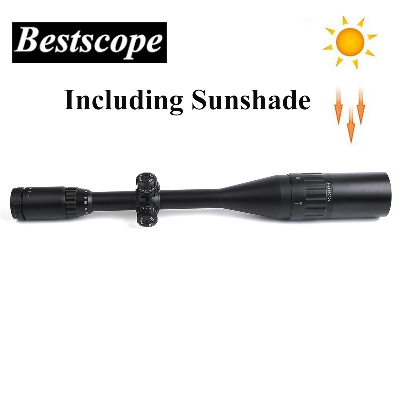 Bestsight 6-24X50 AOL Hunting Rifle Scopes Sniper Scope Tactical Optics Scopes R