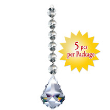 Magnificent Crystal Accent Clear Pendant Prism Crystal Party Wedding Dec... - $16.85
