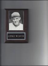 GEORGE BUCK WEAVER PLAQUE BLACK SOX BASEBALL MLB 1919 CHICAGO WHITE SOX - $2.56