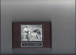 CHARLES SWEDE RISBERG PLAQUE BLACK SOX BASEBALL MLB 1919 CHICAGO WHITE SOX - $2.56