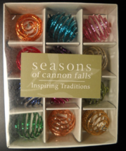 Midwest of Cannon Falls Christmas Ornament Seasons of Cannon Falls Spira... - $10.99