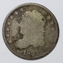 1831 Silver Bust Half Dime 5¢ Coin Lot# E 198