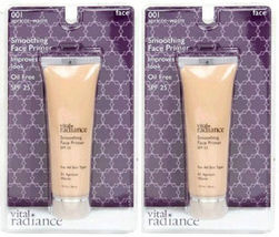 (2 Pack) Vital Radiance Soothing Face Primer, Apricot-Warm 001 - $49.99