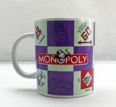 Monopoly Board Game Mug - Purple, Red, Mint Green Coffee Tea Cup - Hasbr... - $9.45