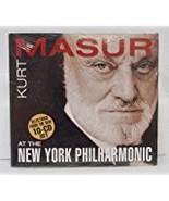 At The New York Philharmonic [Audio CD] Kurt Masur and New York Philharm... - $7.99
